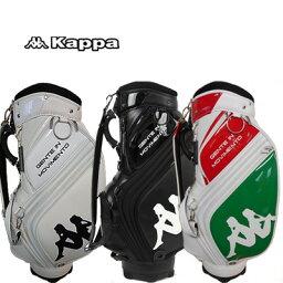 カッパ 【送料無料】【ネームプレート刻印無料】KG618BA31 カッパゴルフ キャディバッグ ITALIA/Kappa GOLF