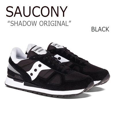 サッカニー スニーカー Saucony メンズ レディース Shadow Original シャドウ オリジナル Black ブラック 2108-518 シューズ
