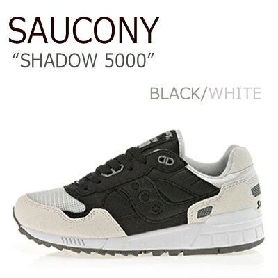 サッカニー スニーカー Saucony メンズ レディース SHADOW 5000 シャドウ5000 BLACK WHITE ブラック ホワイト S60033-102 シューズ