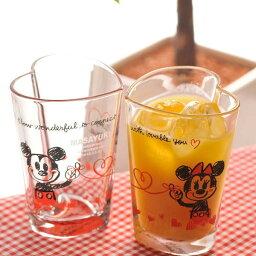 ミッキー&ミニー 【名入れ専門】【名入れ プレゼント】Disneyミッキー&ミニーハートタンブラーペアセット