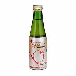 ジュース お祝い パーティーに最適!青森リンゴ使用 ノンアルコール スパークリングアップルジュース瓶 200ml×24本 目安在庫=○【10P03Dec16】