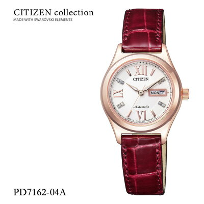Citizen Collection シチズンコレクション メカニカル 機械式 女性 日本製 PD7162-04A 腕時計 取り寄せ レディース