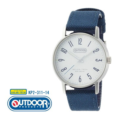 アウトドア OUTDOOR シチズン CITIZEN オピダム ラージ ペア メンズ 青 ブルー KP2-311-14 腕時計 カジュアル おしゃれ