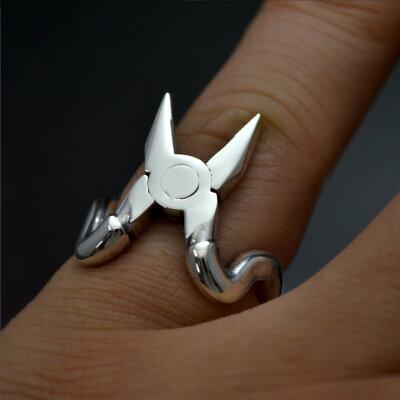 工具の指輪 ペンチリング シルバー925製 Silver925 銀製 プライヤー 万力 ヤットコ