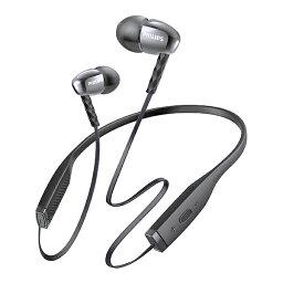 フィリップス イヤホン Bluetooth ブルートゥースイヤホン PHILIPS フィリップス SHB5950BK(ブラック) 【1年保証】 【送料無料】