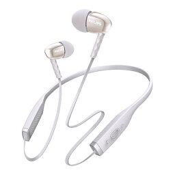 フィリップス イヤホン Bluetooth ブルートゥースイヤホン PHILIPS フィリップス SHB5950WT(ホワイト) 【1年保証】 【送料無料】