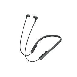 ブルートゥース スポーツイヤホン Bluetooth ブルートゥース ワイヤレス イヤホン SONY ソニー MDR-XB70BTB ブラック 【送料無料】 ネックバンド型 【1年保証】