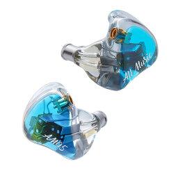 CARBO BASSO イヤホン iBasso Audio アイバッソオーディオ AM05 Blue BA型イヤホン カナル型 【送料無料】
