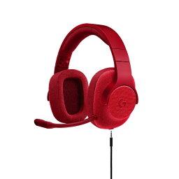 ロジクール ゲーミングヘッドセット ロジクール G433 レッド【送料無料】 7.1chサラウンド PS4 PC ニンテンドーSwitch Xbox One 高音質 ヘッドホン ヘッドフォン 【2年保証】