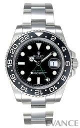 GMTマスター 腕時計(メンズ) 【送料無料】【新品】【ROLEX】 ロレックス GMTマスターII 116710LN 【エバンス 楽天市場店】