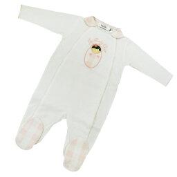 9b1cb965a0079 ベビー・ディオール ベビー服 ベビーディオール Baby Dior 長袖カバーオール ○ CD-0229WHT  の