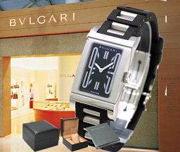 レッタンゴロ BVLGARI ブルガリ レッタンゴロ ラバーブレス RT39SV レディース 腕時計