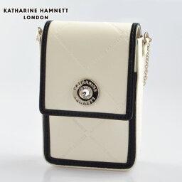 キャサリンハムネット シガレットケース KATHARINE HAMNETT KH55-5002 牛革タバコケース キャサリンハムネット シガレットケース ホワイト【新品・正規品・送料無料】 ギフト 【】