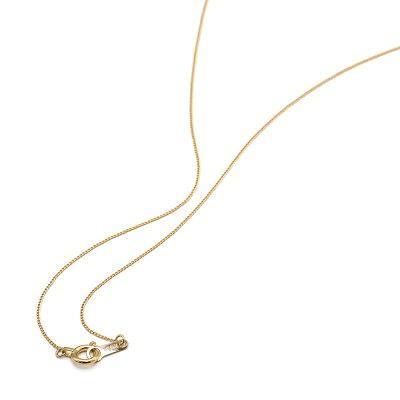 ネックレス チェーン 18金 イエローゴールド 2面カット喜平チェーン 幅0.6mm 長さ80cm|鎖 K18YG 18k 貴金属 ジュエリー レディース メンズ