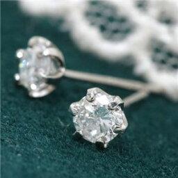 ダイヤモンド レビュー投稿で次回使える2000円クーポン全員にプレゼント 直送 0.4ctプラチナダイヤモンドピアス ファッション ピアス・イヤリング 天然石 ダイヤモンド
