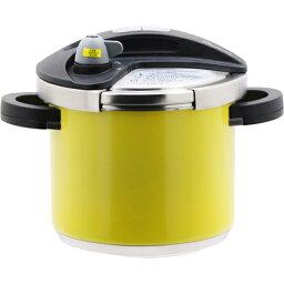 ワンダーシェフ ホーム&キッチン 鍋・フライパン 鍋 ワンダーシェフ orth Cute 両手圧力鍋 レモンスノー BODA50-LS 5.0L