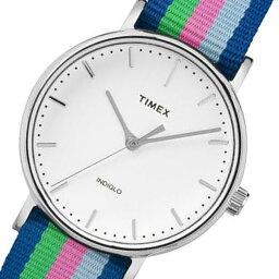 タイメックス レビュー投稿で次回使える2000円クーポン全員にプレゼント 直送 タイメックス ウィークエンダー レディース 腕時計 TW2P91700 ホワイト 【腕時計 海外インポート品】
