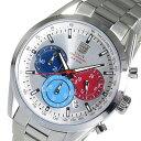 エルジン 腕時計(メンズ) 5000円以上送料無料 エルジン ELGIN クロノ クオーツ メンズ 腕時計 FK1411S-S シルバー 【腕時計 国内正規品】 レビュー投稿で次回使える2000円クーポン全員にプレゼント