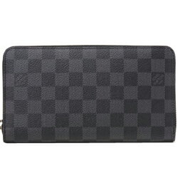 ルイヴィトン 長財布(メンズ) LOUIS VUITTON N63077 グラフィット ジッピー・オーガナイザー 長財布