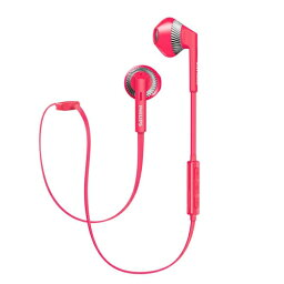 フィリップス イヤホン フィリップス SHB5250PK(ピンク) Bluetoothヘッドセット