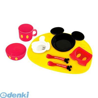 錦化成[4904121306712] ミッキーマウス アイコン ベビー食器セット