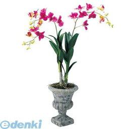デンドロビウム 【造花・装飾】【数量限定につき、売切の際はご了承ください】[FLGD7629] デンドロビウムポット