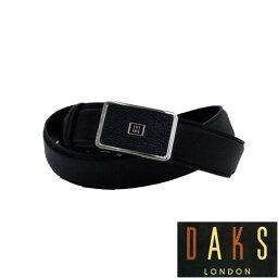 ダックス 【あす楽対応】DAKS ダックス メンズ バックル式レザーベルト(ブラック)【楽ギフ_包装】DB36550 3-86ベルト
