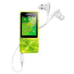 オーディオ 【送料無料】SONY デジタルオーディオプレーヤー(8GB) ウォークマン グリーン NW-S14 G [NWS14G]【KK9N0D18P】