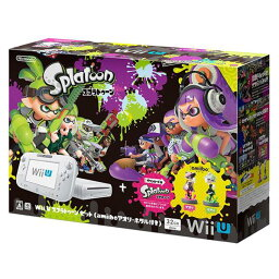 Wii 【送料無料】任天堂 Wii U スプラトゥーン セット(amiibo アオリ・ホタル付き) WUPSWAHT [WUPSWAHT]