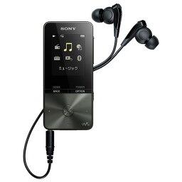 オーディオ SONY デジタルオーディオプレイヤー(16GB) ウォークマンSシリーズ ブラック NW-S315 B [NWS315B]【RNH】