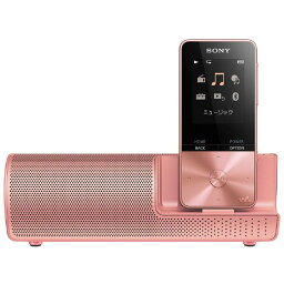 オーディオ SONY デジタルオーディオプレイヤー(4GB) スピーカー付属 ウォークマンSシリーズ ライトピンク NW-S313K PI [NWS313KPI]【RNH】