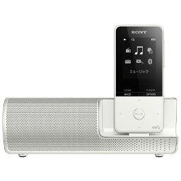 オーディオ SONY デジタルオーディオプレイヤー(16GB) スピーカー付属 ウォークマンSシリーズ ホワイト NW-S315K W [NWS315KW]【RNH】