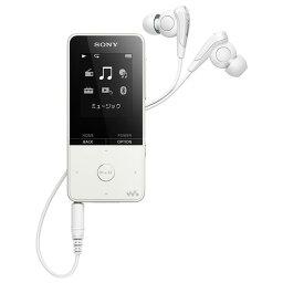 オーディオ SONY デジタルオーディオプレイヤー(16GB) ウォークマンSシリーズ ホワイト NW-S315 W [NWS315W]【RNH】