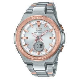 カシオ Baby-G 腕時計(メンズ) カシオ 腕時計 BABY-G G-MS 文字盤ホワイト・べゼルゴールド MSG-W200SG-4AJF [MSGW200SG4AJF]