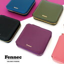 Fennec Zipper Wallet フェネック レディース 財布 二つ折り 二つ折 ラウンドファスナー 薄い コインケース付 レザー コンパクト 二つ折り財布 ブランド 韓国ファッション 娘 誕生日 プレゼント ギフト