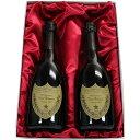 ドンペリニヨンのワインギフト プレミアムシャンパンギフト ドン・ペリニヨン (ドンペリ)2008 750ml 正規輸入品2本セット