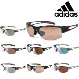 アディダス 送料無料 スポーツサングラス アディダス adidas レディース a389 ADILIBRIA HALFRIM S ランニング マラソン ゴルフ 釣り 自転車 テニス サイクリング 紫外線対策 UVカット