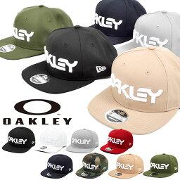 ニューエラ 送料無料 ロゴ キャップ OAKLEY × NEW ERA オークリー メンズ MARK II NOVELTY SNAP BACK ニューエラ コラボ 帽子 CAP 帽子 スナップバック ストリート スケートボード アウトドア 911784 20%off 2020秋冬新色