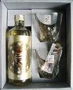 米焼酎 信州高遠の焼酎「十二天」とグラス2個のギフト 記念日に!贈答品・ギフトに!!仙醸