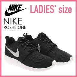 ナイキ 【レディースモデル】NIKE (ナイキ)ROSHE ONE ローシー ワン ROSHERUN ローシラン WOMENS スニーカー BLACK/METALLIC PLATINUM-WHITE ブラック/ホワイト (511882 094) ROSHEONE
