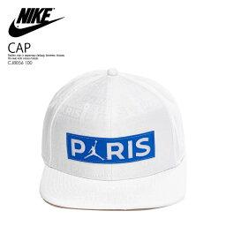 ナイキ キャップ メンズ 【希少! 大人気!】NIKE(ナイキ) PARIS SAINT-GERMAIN PSG JORDAN PRO CAP SNAPBACK (パリ サンジェルマン PSG ジョーダン プロ キャップ スナップバック) 帽子 メンズ WHITE (ホワイト) CJ8056 100