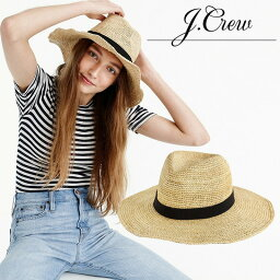 ジェイクルー 【日本未入荷! 海外限定!】 J.CREW (ジェイ クルー) WIDE-BRIM PACKABLE STRAW HAT (ワイド ブリム パッカブル ストロー ハット) レディース 帽子 日焼け防止 折りたたみ STRAW パナマ ベージュ G6551 NA6219 JCREW ENDLESS TRIP pickup