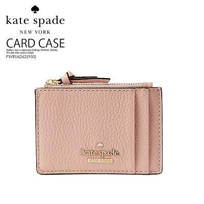 【希少! 大人気!】 kate spade ケイトスペード JACKSON STREET CLARKE (ジャクソン ストリート クラーク) レディース 財布 ウォレット 二つ折り財布 ミニ財布 カード入れ カードケース ROSY CHEEKS(950) ( ピンク ベージュ ) PWRU6262 ENDLESS TRIP