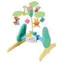 ベッドメリー 【送料無料】くまのプーさん えらべる回転6WAYジムにへんしんメリー おもちゃ こども 子供 知育 勉強 ベビー 0歳