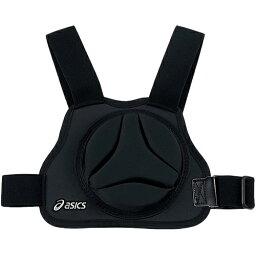 キャッチャー防具 アシックス asics 野球用品 胸部保護パッド ブラック BPG232 90