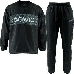 ウエア ガビック GAVIC ジュニア サッカー ボタニカル昇華ピステスーツ 裏付き ブラック GA1544