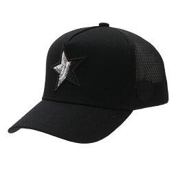 ヨシノリコタケ 新品 ヨシノリコタケ YOSHINORI KOTAKE x バーニーズ ニューヨーク BARNEYS NEWYORK STAR スパンコール MESH CAP キャップ BLACK ブラック メンズ 新作 39ショップ