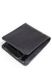 グレンロイヤル グレンロイヤル GLENROYAL 二つ折り財布 コインケケース付ウォレット 03-6171 ブラック ブライドルレザー