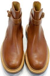 トリッカーズ Tricker's Jodhpur Boots Gold MC Calf Commando Sole : トリッカーズ ジョッパーブーツ ゴールドMCカーフ コマンドソール