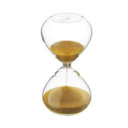 砂時計 『プレシャス サンドグラス ゴールド 3min』【砂時計 3分 ガラス インテリアアクセサリー インテリア小物 雑貨】【smtb-KD】